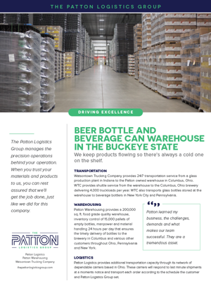 Preview of Beer Bottle and Beverage Can Warehouse in the Buckeye State